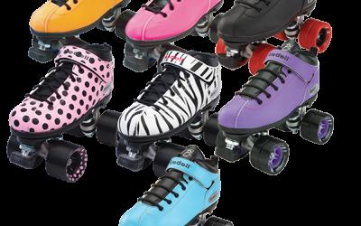 I've got a pair of brand new roller skates