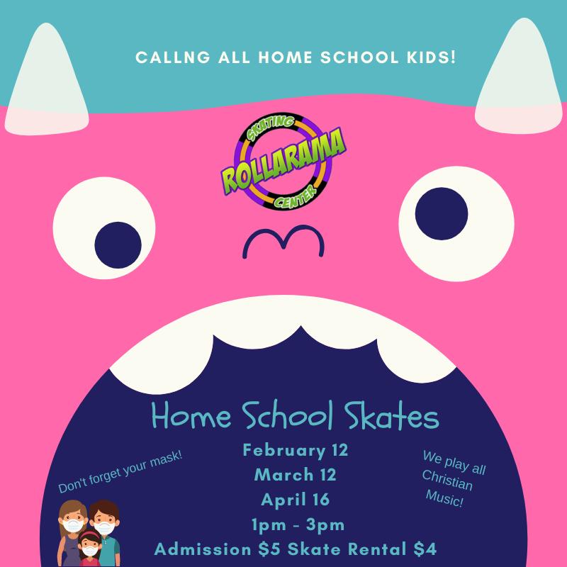 Home School Skate at Rollarama Skating Center