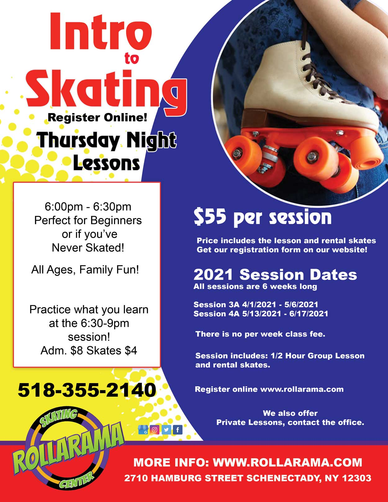 Thursday Intro to Skating